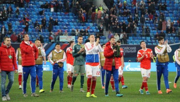 Стал известен состав сборной России на товарищеский матч против Польши