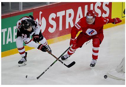 Сборная России проиграла Канаде в 1/4 финала чемпионата мира по хоккею