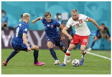 Словакия обыграла Польшу в матче чемпионата Европы