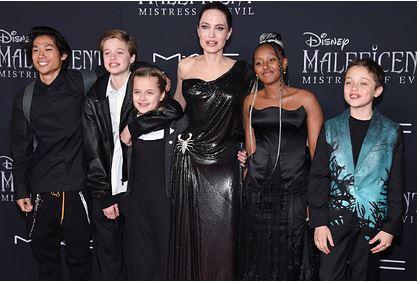 Трое детей Анджелины Джоли хотели дать показания против Брэда Питта