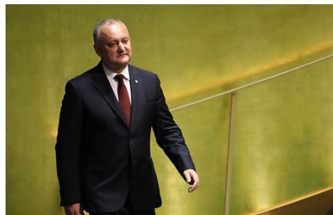 Додон раскрыл задачу Запада организовать антироссийское большинство в Молдавии