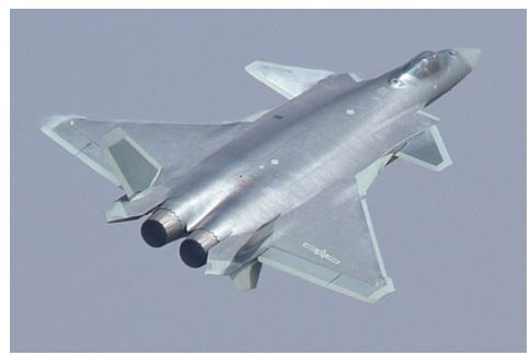 Китай поднял в воздух сразу 15 истребителей пятого поколения J-20