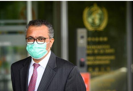 Глава ВОЗ заявил об очень опасной стадии пандемии коронавируса