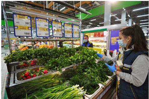Падение мировых цен на еду обошло стороной Россию