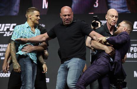 Названы гарантированные гонорары Макгрегора и Порье за бой на турнире UFC