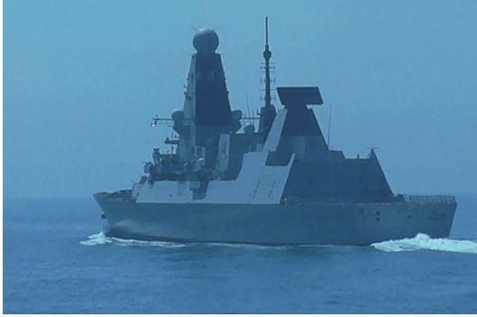 Нарушивший российскую границу эсминец Defender вернулся в Гибралтарский пролив