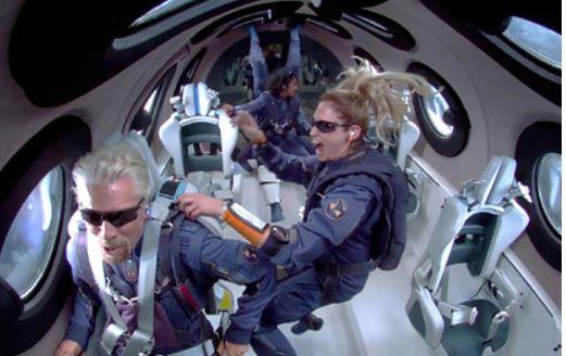 Акции компании Брэнсона рухнули после его полета в космос