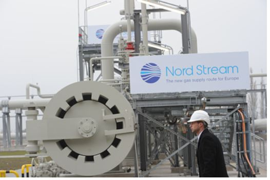 Поставка газа по «Северному потоку» остановилась
