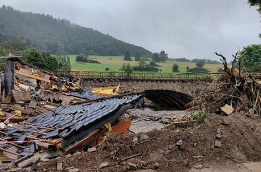 Названа причина наводнения в Германии