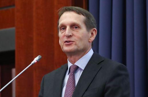 Нарышкин увидел политику в докладе разведки США о коронавирусе